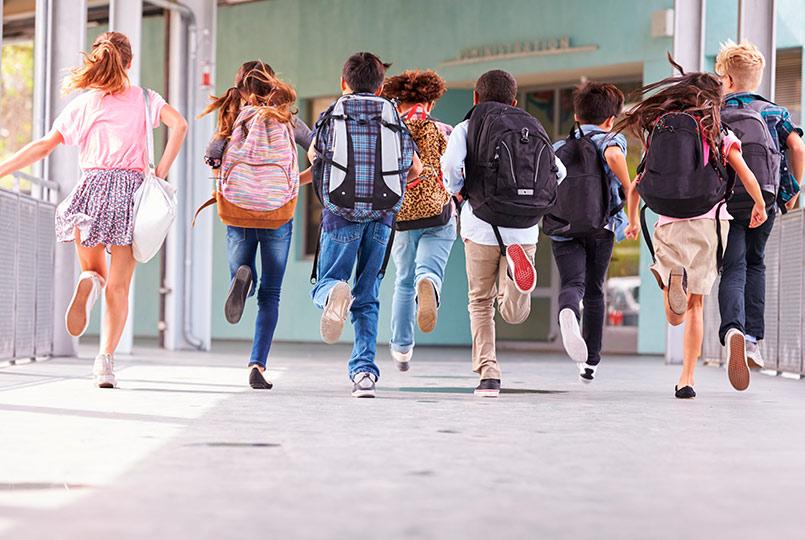 Educavision: primer dia de colegio 2